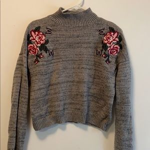 Cloud Chaser Crop Sweater